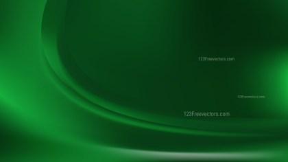 Dark Green Curve Background
