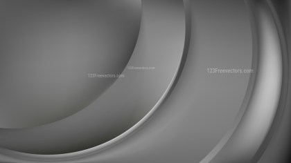 Abstract Dark Grey Wave Background Vector Image