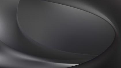 Dark Grey Wavy Background Vector