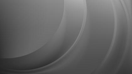Abstract Dark Grey Wavy Background