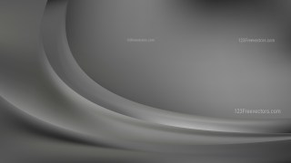 Dark Grey Abstract Wave Background Template