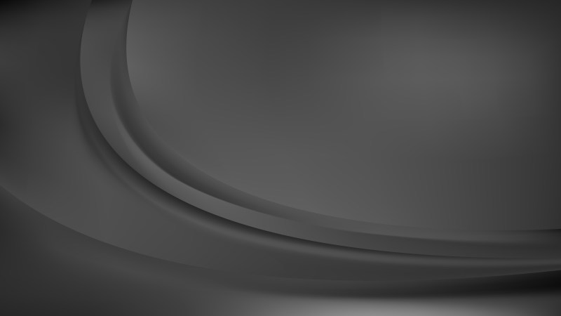 Dark Grey Abstract Curve Background