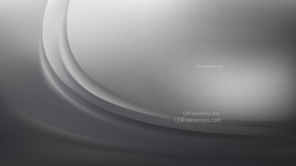 Glowing Abstract Dark Grey Wave Background Illustrator