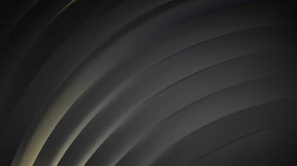 Dark Grey Curved Stripes Vector Art