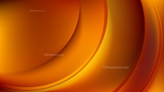 Dark Orange Abstract Curve Background Illustration