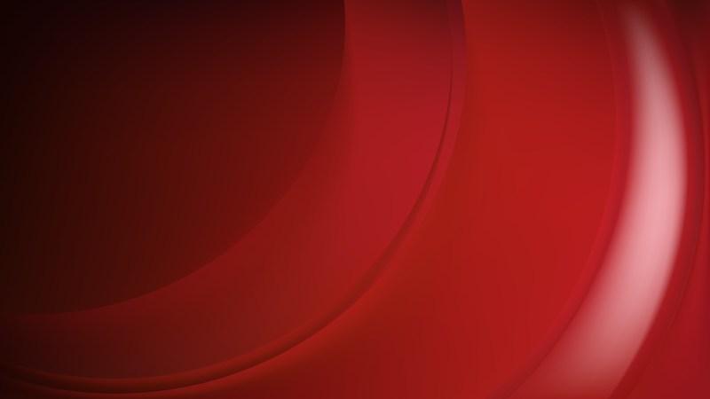 Glowing Dark Red Wave Background