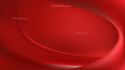 Abstract Dark Red Wave Background Vector Art