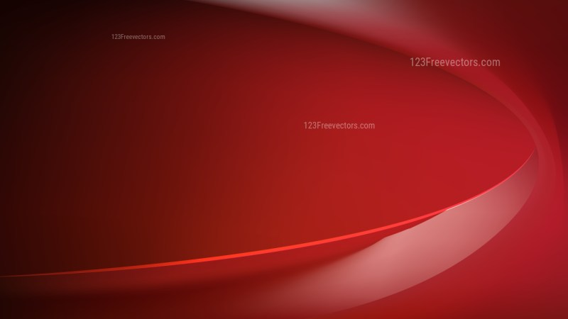 Glowing Dark Red Wave Background Graphic