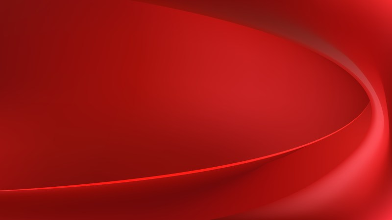 Abstract Dark Red Wave Background