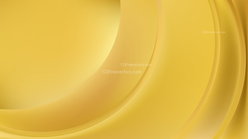 Gold Abstract Wave Background Illustration