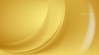 Gold Abstract Wavy Background Vector Graphic