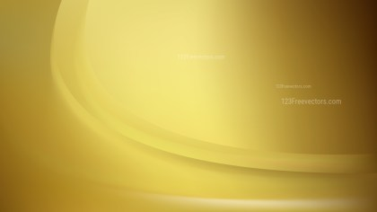 Gold Abstract Curve Background Vector Image