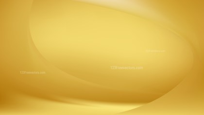 Abstract Glowing Gold Wave Background Design