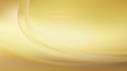 Gold Abstract Wave Background Template