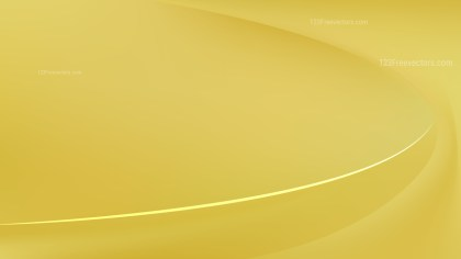 Gold Abstract Wavy Background Vector