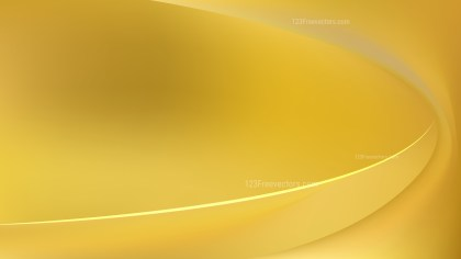 Abstract Gold Wavy Background Design