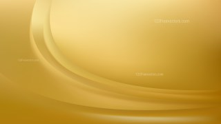 Gold Abstract Curve Background