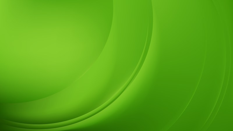 Green Abstract Wavy Background Vector