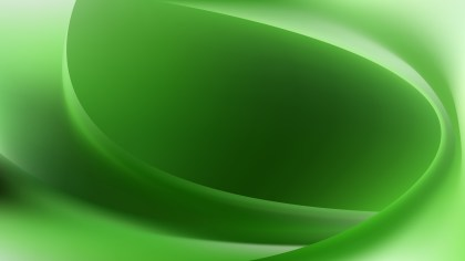 Glowing Green Wave Background
