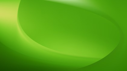 Abstract Glowing Green Wave Background Vector