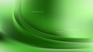 Green Abstract Wavy Background Graphic