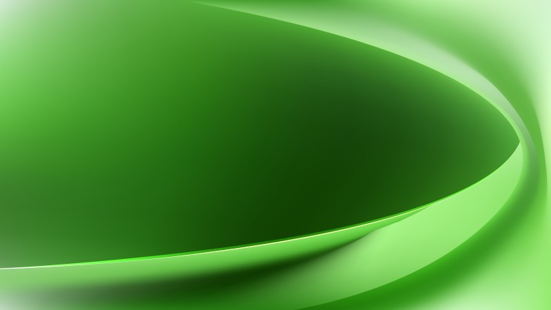 Green Abstract Wavy Background