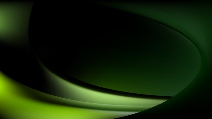Abstract Green and Black Wavy Background Illustrator