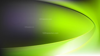Abstract Green and Black Shiny Wave Background Design