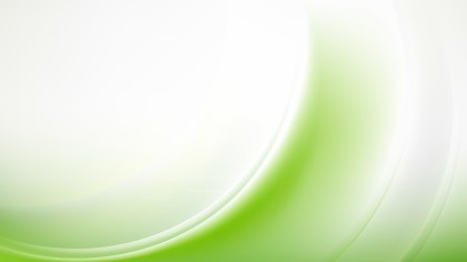 Green and White Abstract Wave Background Template Vector Graphic