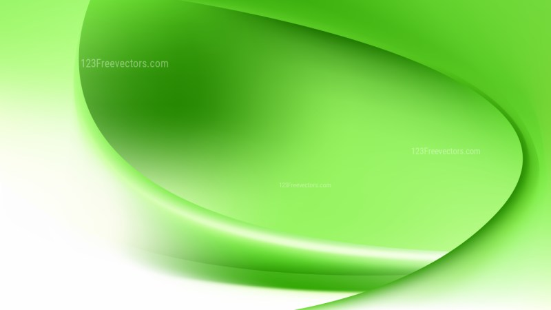 Green and White Abstract Wave Background Template Design