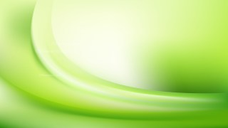 Abstract Green and White Wave Background Template Vector