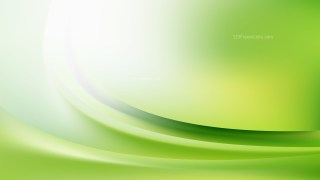 Green and White Abstract Curve Background