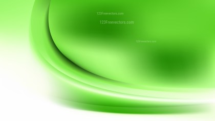 Green and White Abstract Wave Background Template