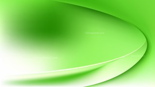 Abstract Green and White Shiny Wave Background Graphic