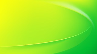 Abstract Glowing Green and Yellow Wave Background Graphic