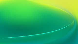 Glowing Abstract Green and Yellow Wave Background
