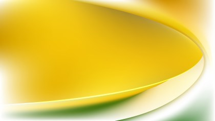 Green Yellow and White Abstract Wavy Background Vector