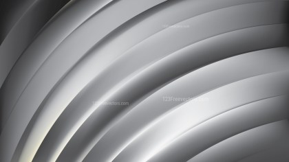 Abstract Grey Shiny Curved Stripes Background