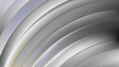 Abstract Grey Curved Stripes Illustration