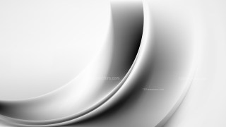Glowing Abstract Grey and White Wave Background