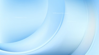 Light Blue Wave Background Template