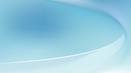 Abstract Light Blue Shiny Wave Background