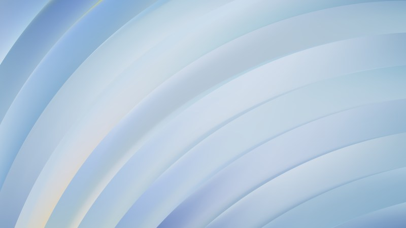 Abstract Light Blue Curved Stripes Illustration