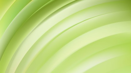 Abstract Light Green Curved Stripes Illustration