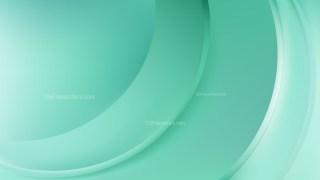 Mint Green Wavy Background