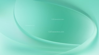 Mint Green Curve Background