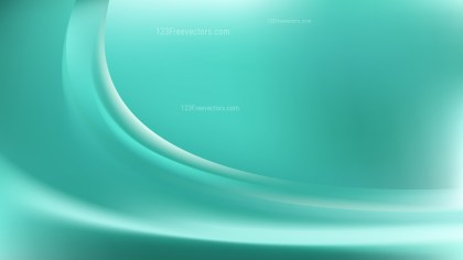 Abstract Mint Green Shiny Wave Background