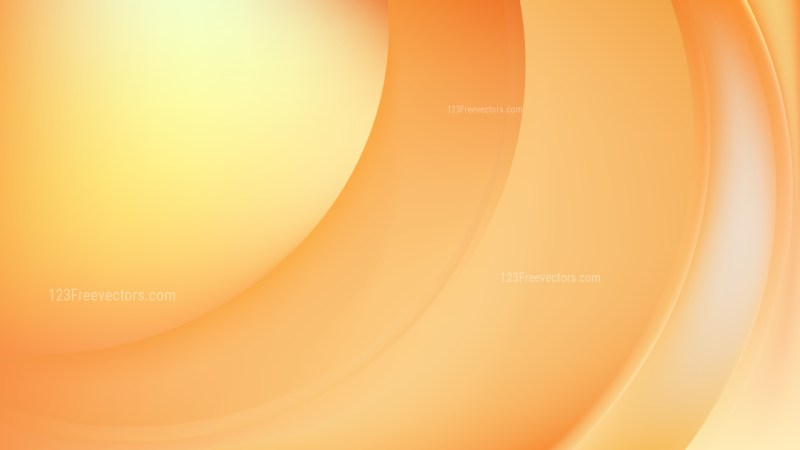Glowing Orange Wave Background Illustrator