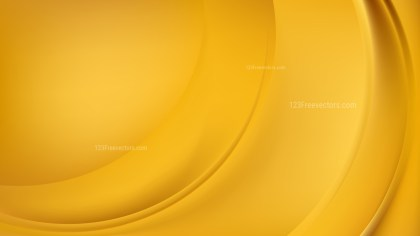 Abstract Glowing Orange Wave Background Vector
