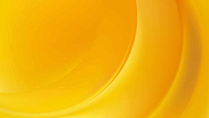 Orange Curve Background Vector Illustration